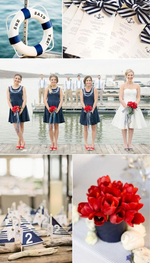 boda con temática playa