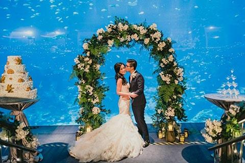 Cofre caribe para lazo de boda, perfecto para combinarlo con tu boda de temática marina