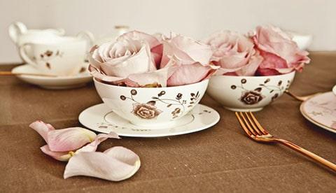 Lazo para boda corazón de cerámica, perfecto para combinar con tu decoración de cerámica