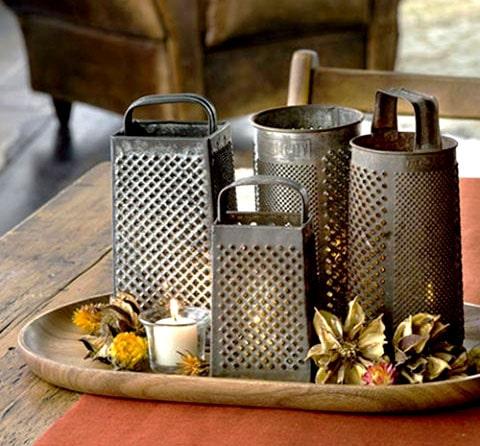 Ralladores de queso como decoración para boda, esté rallador sera perfecto para acompañar la decoración de tu boda.
