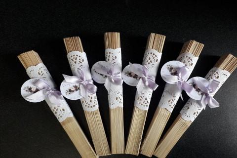 abanicos de madera personalizados para boda