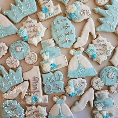 galletas inspiradas en cenicienta