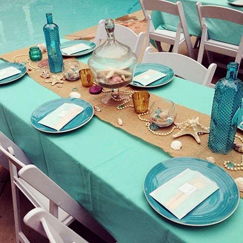 Saleros de pececitos enamorados, saleros en forma de peces azul turquesa, perfecto como recuerdo en bodas de temática marina.