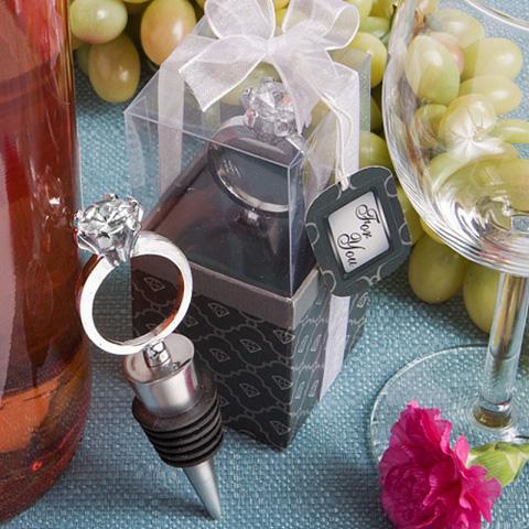 tapon para vino en forma de anillo