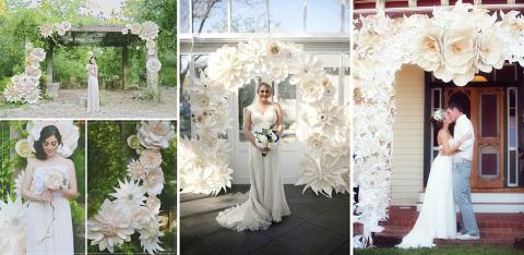 boda con decoración floral