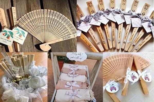 Abanicos de madera personalizados para fiestas, para boda, XV años, bautizo, baby shower y primera comunión