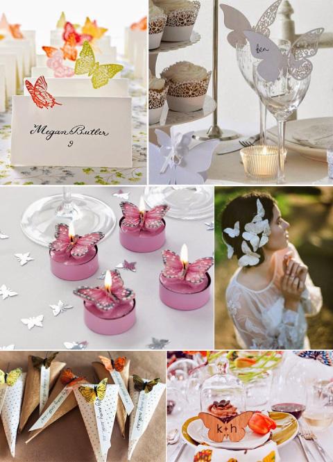 boda con temática de mariposas