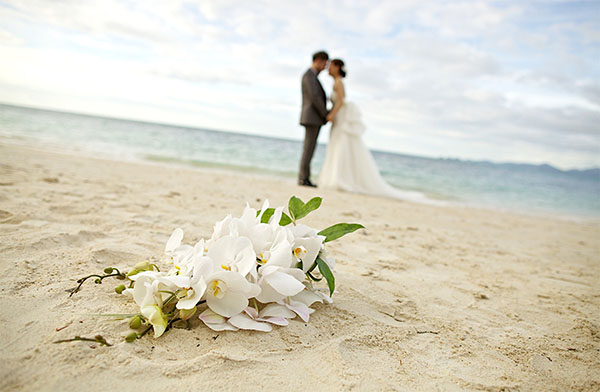 decoracion de boda frente al mar