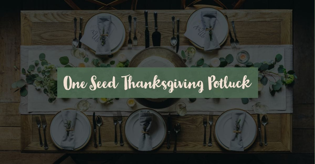 Join us for our Thanksgiving church-family dinner in the cafeteria directly after service!