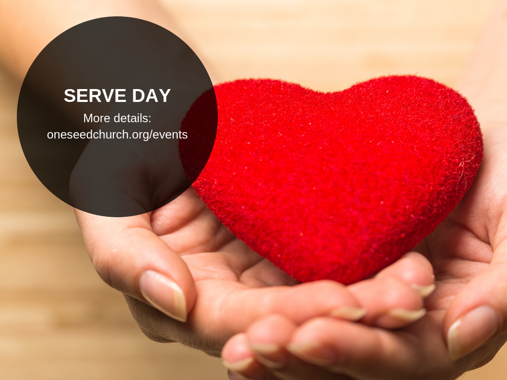 "<p><a href=""https://oneseedchurch.org/serveday"" target=""_blank"">RSVP HERE</a></p>