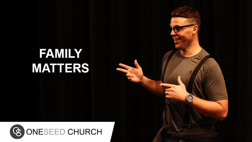 Families are never perfect.  Your family will have matters to deal with but family matters.
