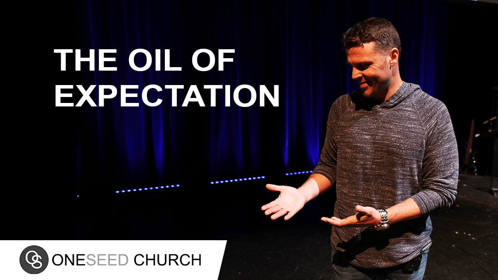 Are you willing to rise to the occasion to release the oil of God's expectation?