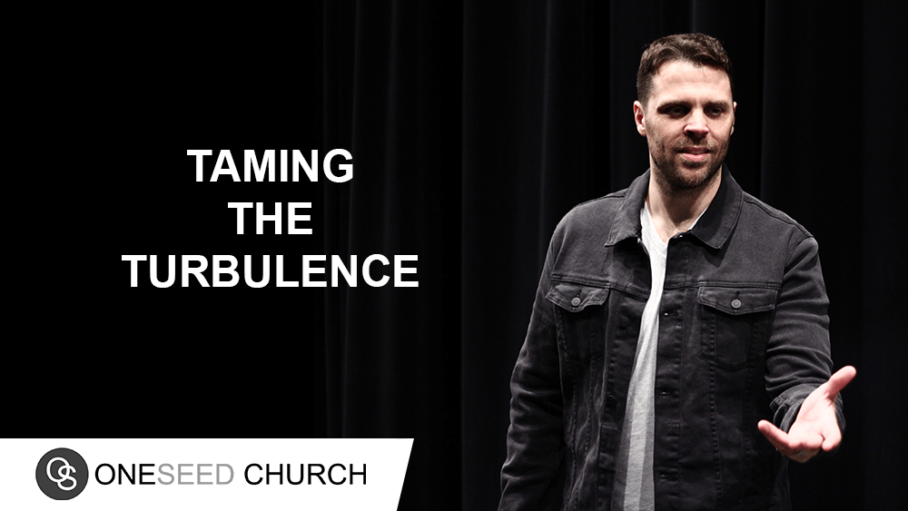 We must be filled with the Spirit of the Lord in order to tame the turbulence.
