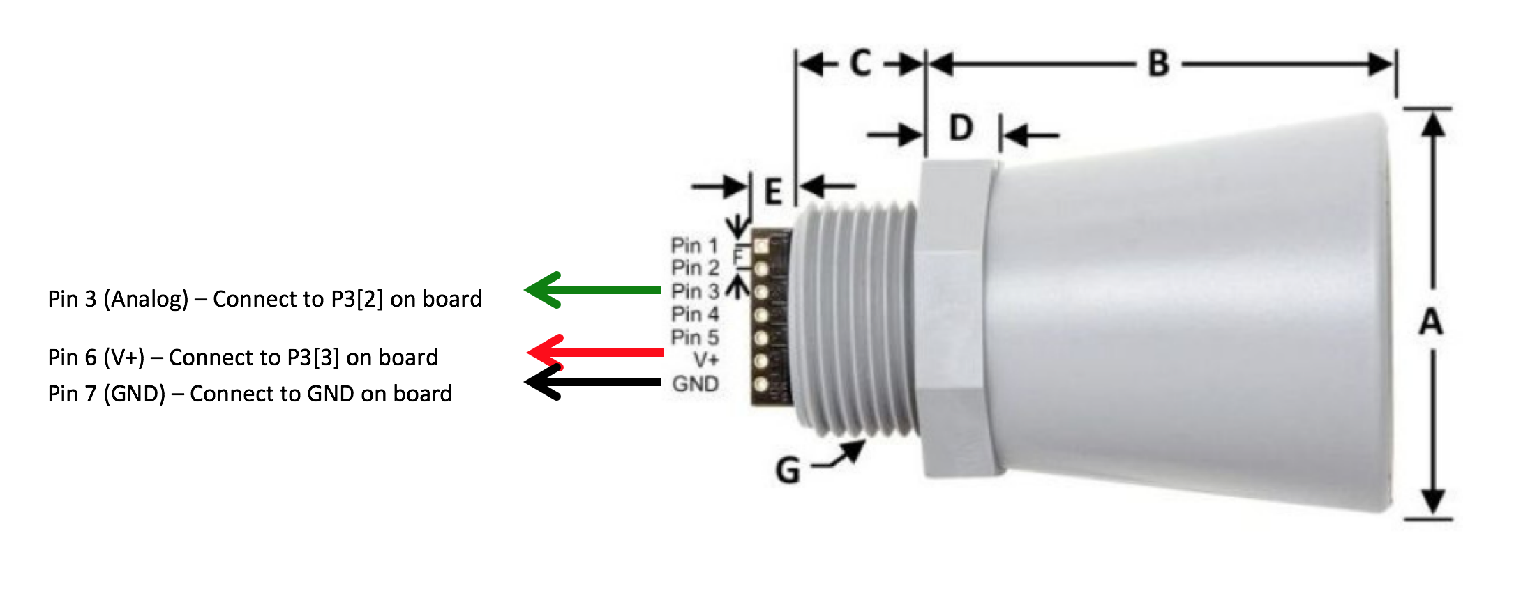 Diy Sensing Anatomy Of An Analog Sensor Esip 2wire Proximity Switch Wiring Using A Flat Head Screwdriver Place The Wires From Ultrasonic