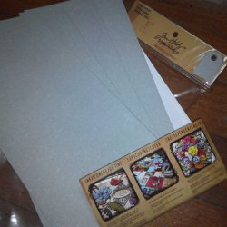 Tim holtz Grunge papers. 6 sheets Sale