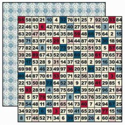 SALE J Bowlin Paper 12x12 Be Our Guest Game Night Sale
