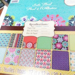 SALE DCWV Recollections Indie Floral