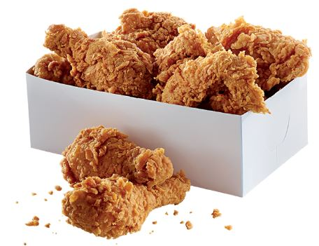 8 pc FRIED CHICKEN