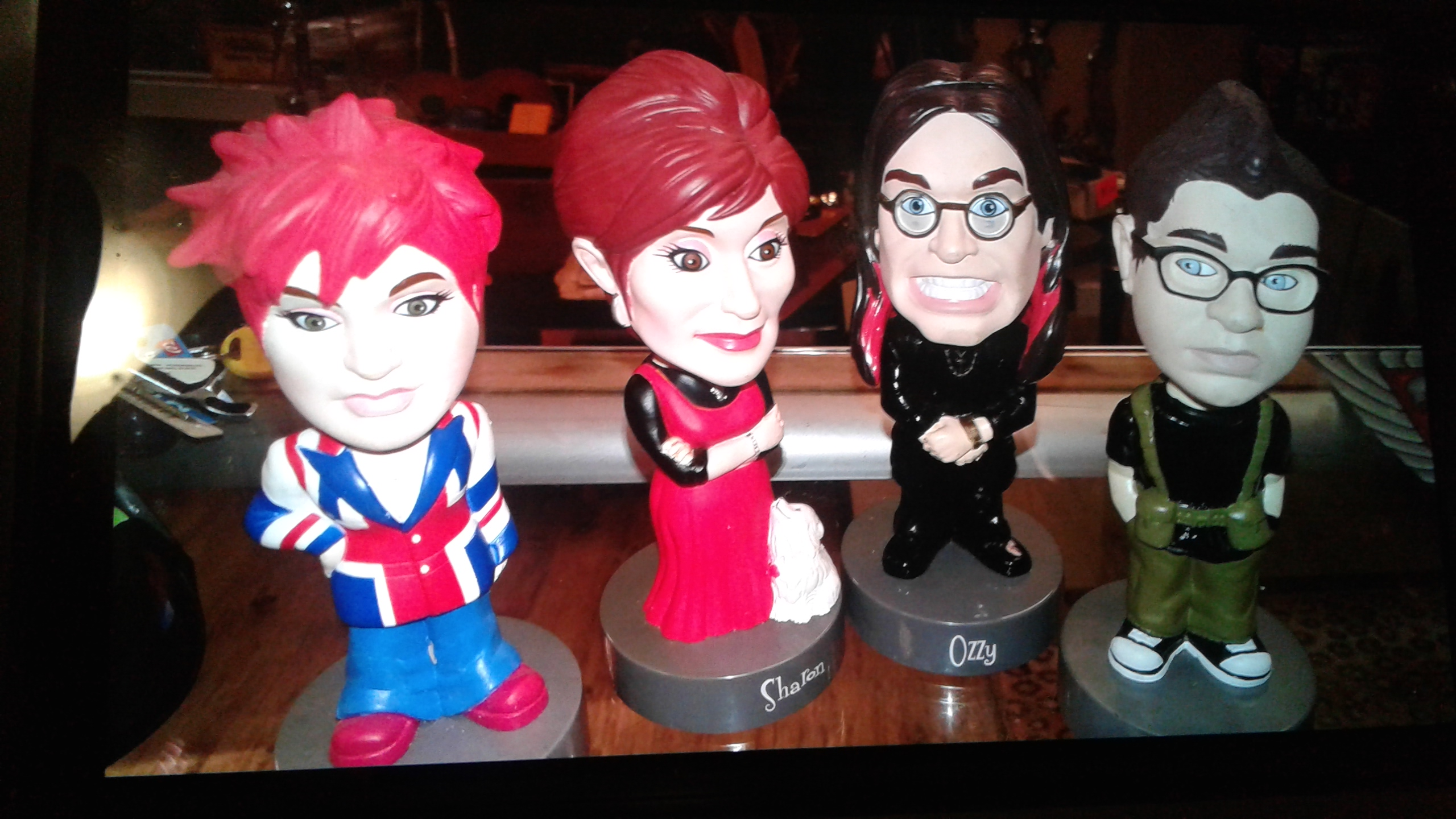 Osbourne Bobble heads