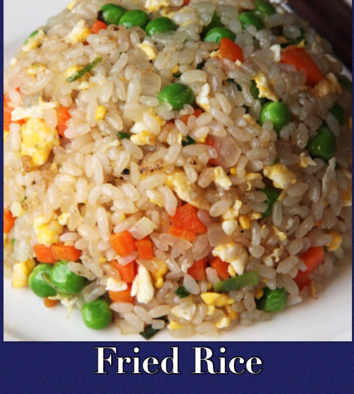 24. VEGETABLES FRIED RICE