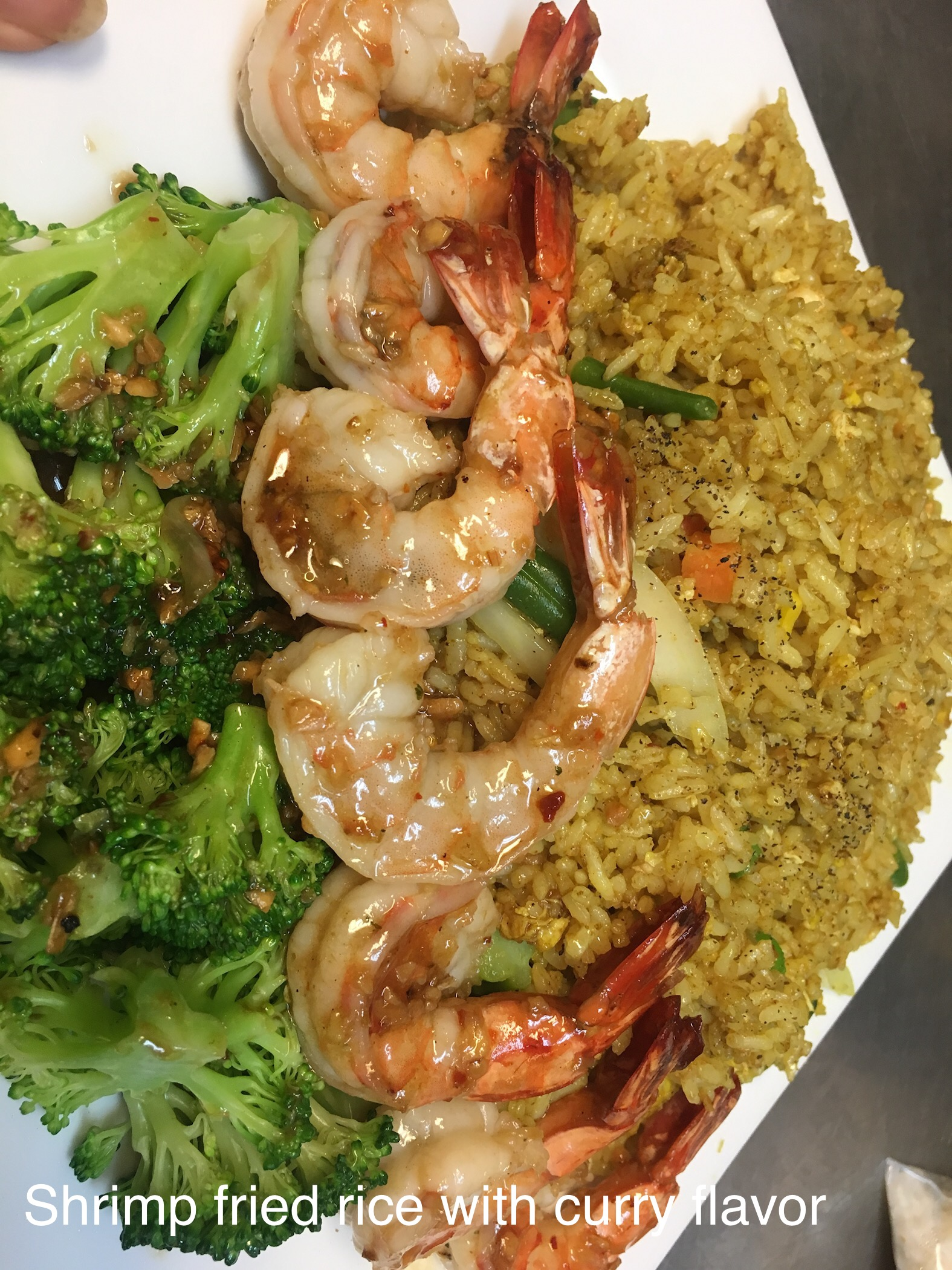 27. SHRIMP FRIED RICE