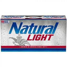 Natural Light, 18 Pack, 12 Oz Can