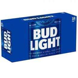 Bud Light, 18 Pack, 12 Oz Can