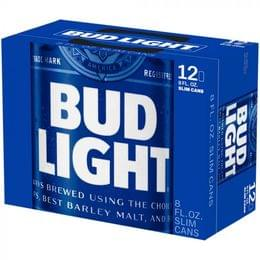 Bud Light, 12 Pack, 8 Oz Can