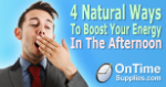 4 Natural Ways to Boost Your Energy at Work.