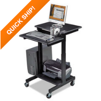 BALT® Web A/V Stand-Up Workstation