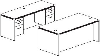Open Desk Plan