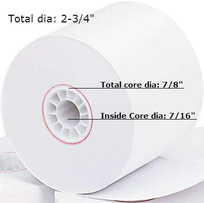 PMC08835 Paper Roll Diameter