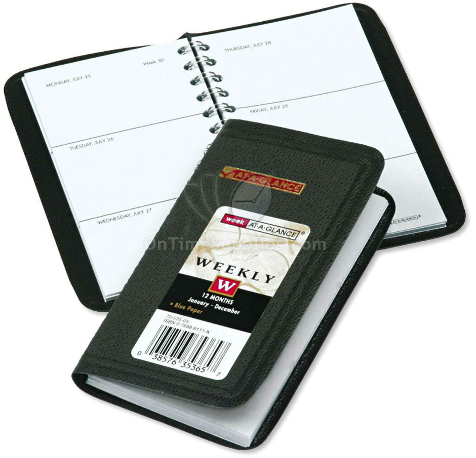 AAG7003505 Weekly Pocket Planner by AT-A-GLANCE