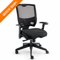 Alera® Epoch Series Fabric Mesh Multifunction Chair