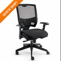 Alera® Epoch Series Fabric Mesh Multifunction Chair