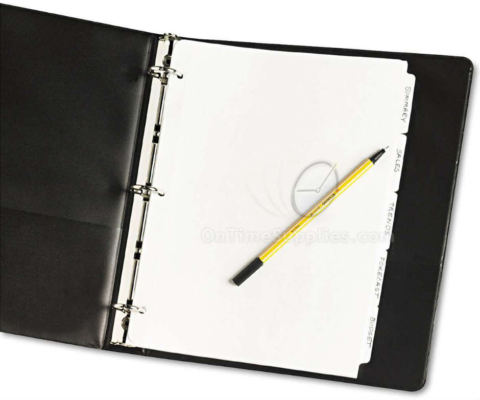 AVE11506 5 Tab Dividers