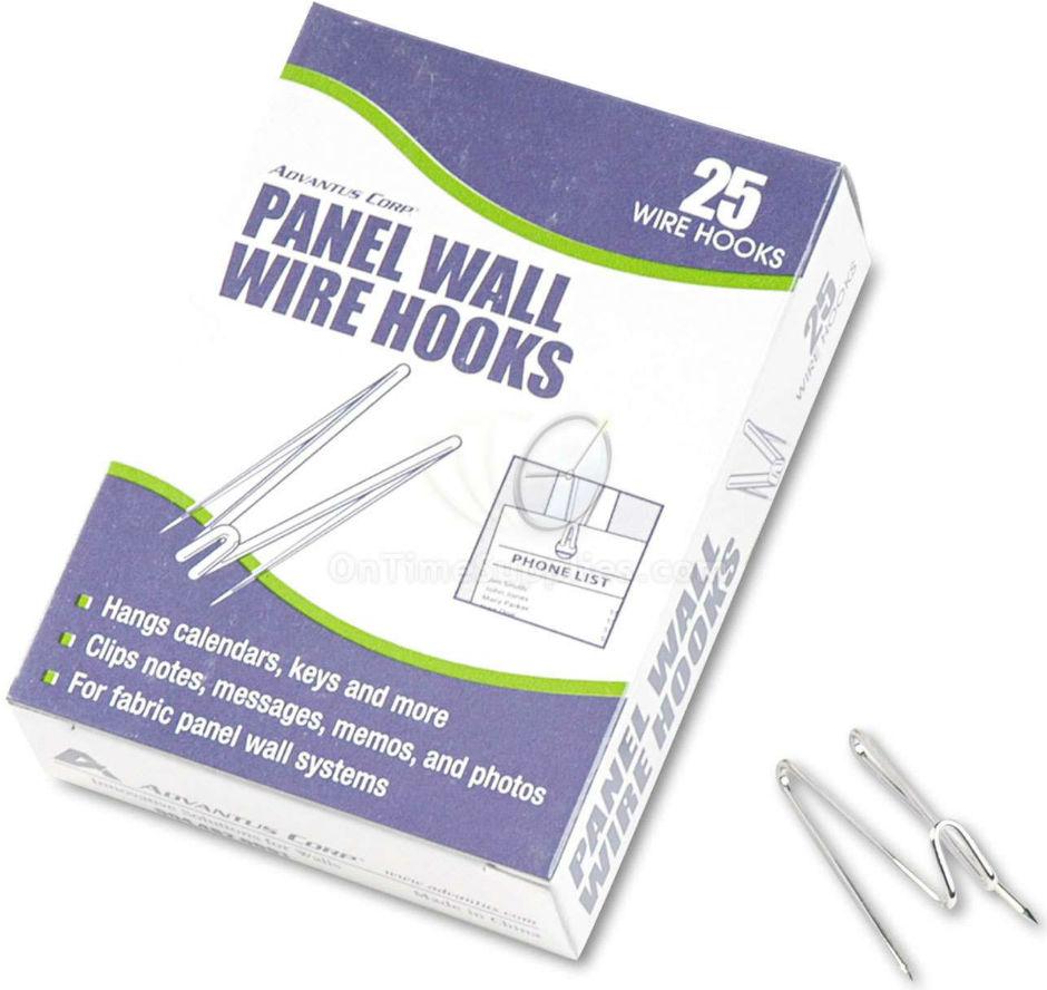 AVT75370 Panel Wall Wire Hooks by Advantus®