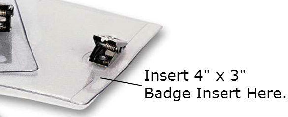 Advantus® ID Badge Holder w/Clip Detail