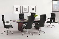 Basyx Laminate Rectangular Conference Tables