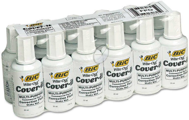 BIC® Cover-It® Correction Fluid