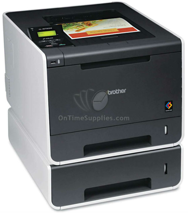HL-4570CDWT Wireless Laser Printer with Duplex Printing, Dual Paper Trays by Brother®