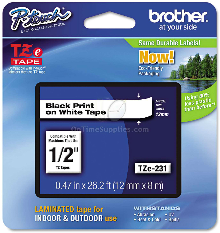 BRTTZE231 Brother Label Printer Refill
