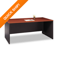 Bush® Series C Rectangular Desk
