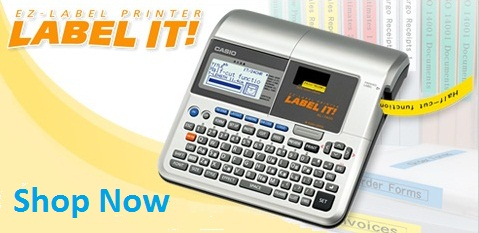 Shop Casio EZ Label Printer Refills