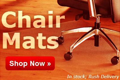 Shop Chair Mats at OnTimeSuppplies.com