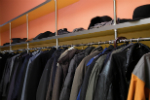 Coat racks and hooks: use garment racks as space savers in small offices.