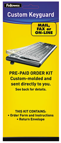 Fellowes Customer Keyboard Cover