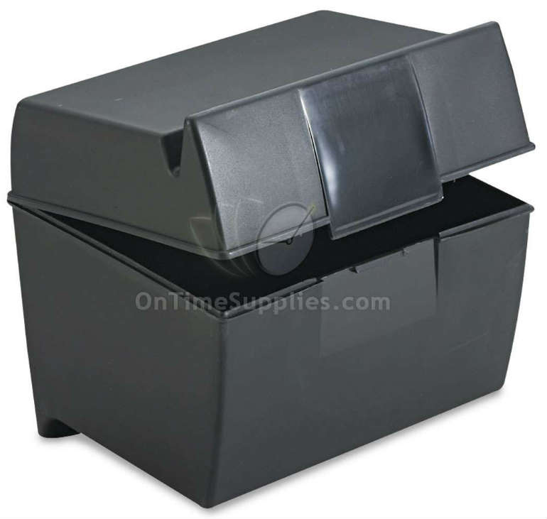 ESS01461 Index Card Box by Oxford Office Products.