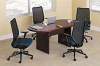 Conference Tables Size Guide OnTimeSuppliescom OnTimeSuppliescom - Hon racetrack conference table