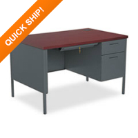 HON® Rectangular Office Desk